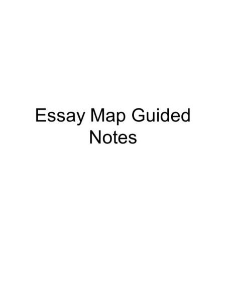 Capitalism And Socialism Essay What Is A Thesis Statement A Thesis Statement Summarizes The Argument You  Will Pursue In Your Paper Miss Brill Theme Essay also Essay On Lord Of The Flies Essay Map Guided Notes Essay Organizer Example Body Paragraph  Legal Essay Structure