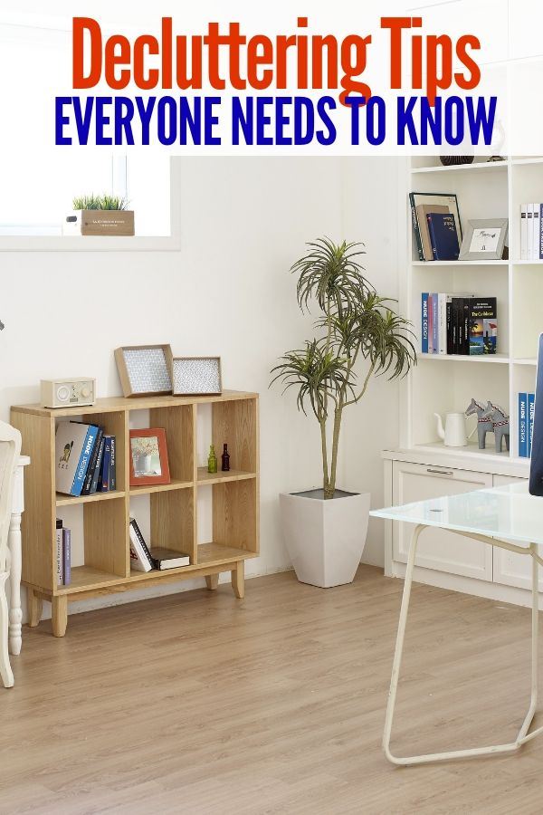 Tackle Decluttering Once And For All With These