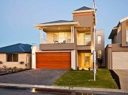 Appealing Narrow Block House Designs Brisbane Contemporary - Simple ...