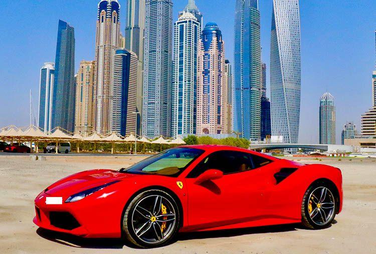 Rent A Ferrari 488 Gtb In Dubai Luxury Car Rental Luxury Cars Ferrari