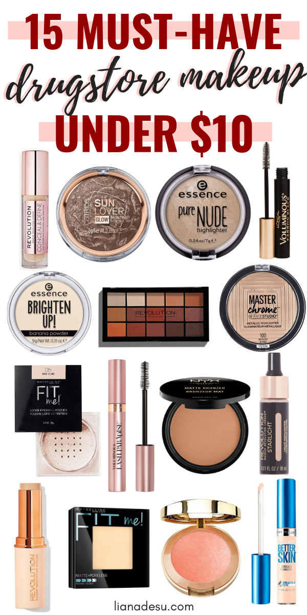 15 Best Drugstore Makeup Must Haves Under 10 Liana Desu Best Drugstore Makeup Drugstore Makeup Makeup Must Haves