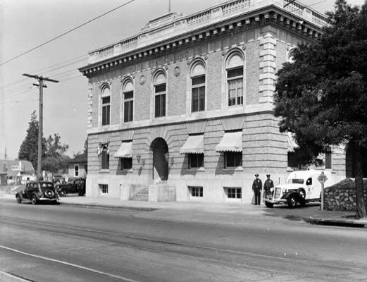 Highland Park Station is the only old station to survive out of all