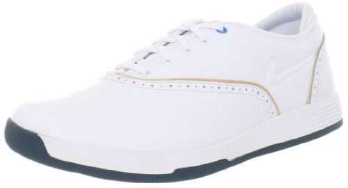 new style 07eef 4d54a Nike Golf Women s Nike Lunar Duet Classic Wide Golf Shoe,White Vachetta Tan,