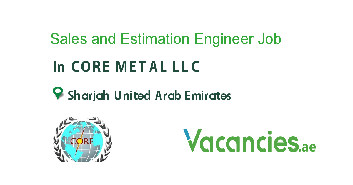 Sales and Estimation Engineer Executive jobs, Accounting
