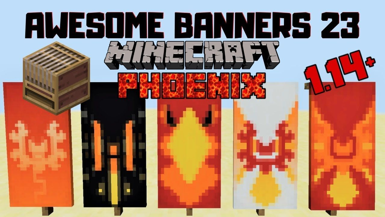 5 Awesome Minecraft Banner Designs With Tutorial 23 Loom Youtube Minecraft Banner Designs Minecraft Banners Banner Design