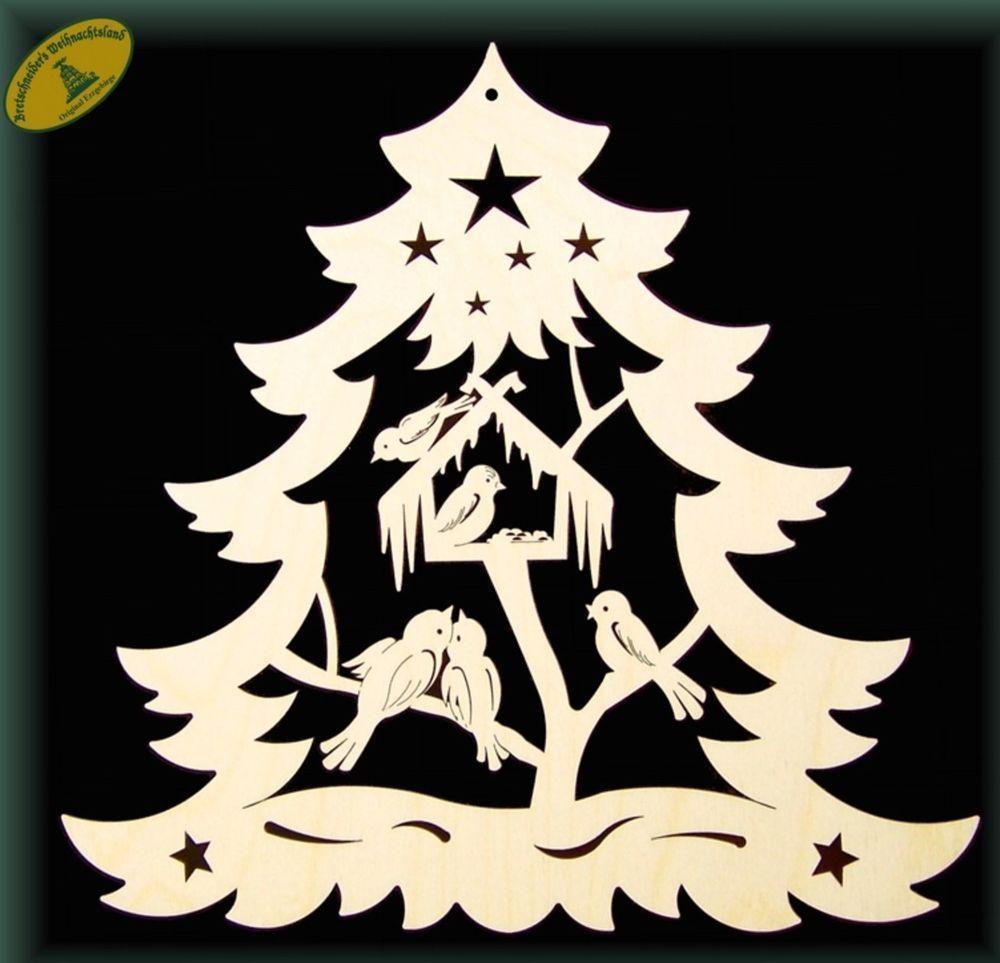 Fensterbild Vogel Im Tannenbaum Holz Weihnachten Winter Erzgebirge Mobel W Laubsage Vorlagen Weihnachten Weihnachtszeit Basteln Holzideen Weihnachten