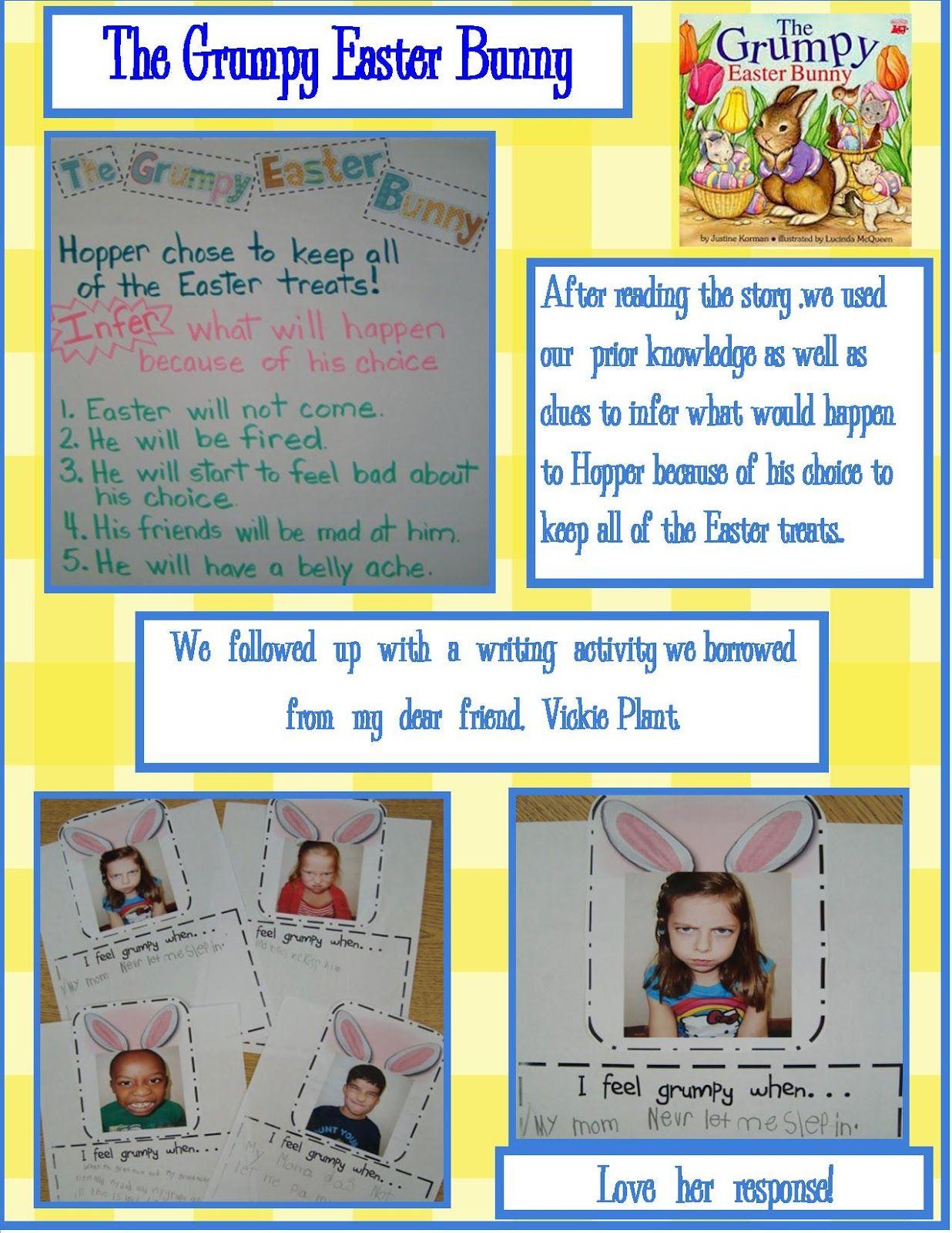 Golden Gang Kindergarten The Grumpy Easter Bunny Go To Www Likegossip Com To Get More Gossip Ne Easter Kindergarten Easter Bunny Activities Bunny Activities Easter stories using writing process