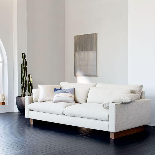 Harmony Sofa Deep Sofa Contemporary Sofa West Elm Sofa