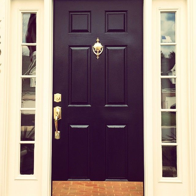 S G Stone Fine Finishes Transformed Their Client S Entrance With The Modern Masters Front Door Pa Front Door Paint Colors Door Paint Colors Purple Front Doors