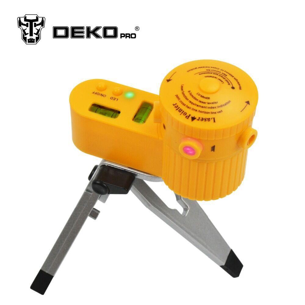 Dekopro Linia Pozioma Pionowa Narzedzie Wielofunkcyjne Krzyz Poziomice Laserowe Niwelator Na Calym Swiecie Ze Statywem Line Tools Laser Levels Tripod