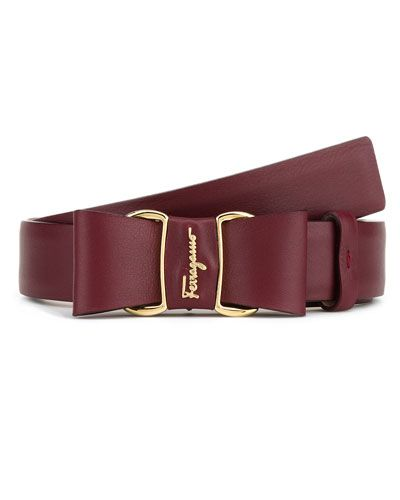 Salvatore Ferragamo Women's Leather Belt | My Style ...