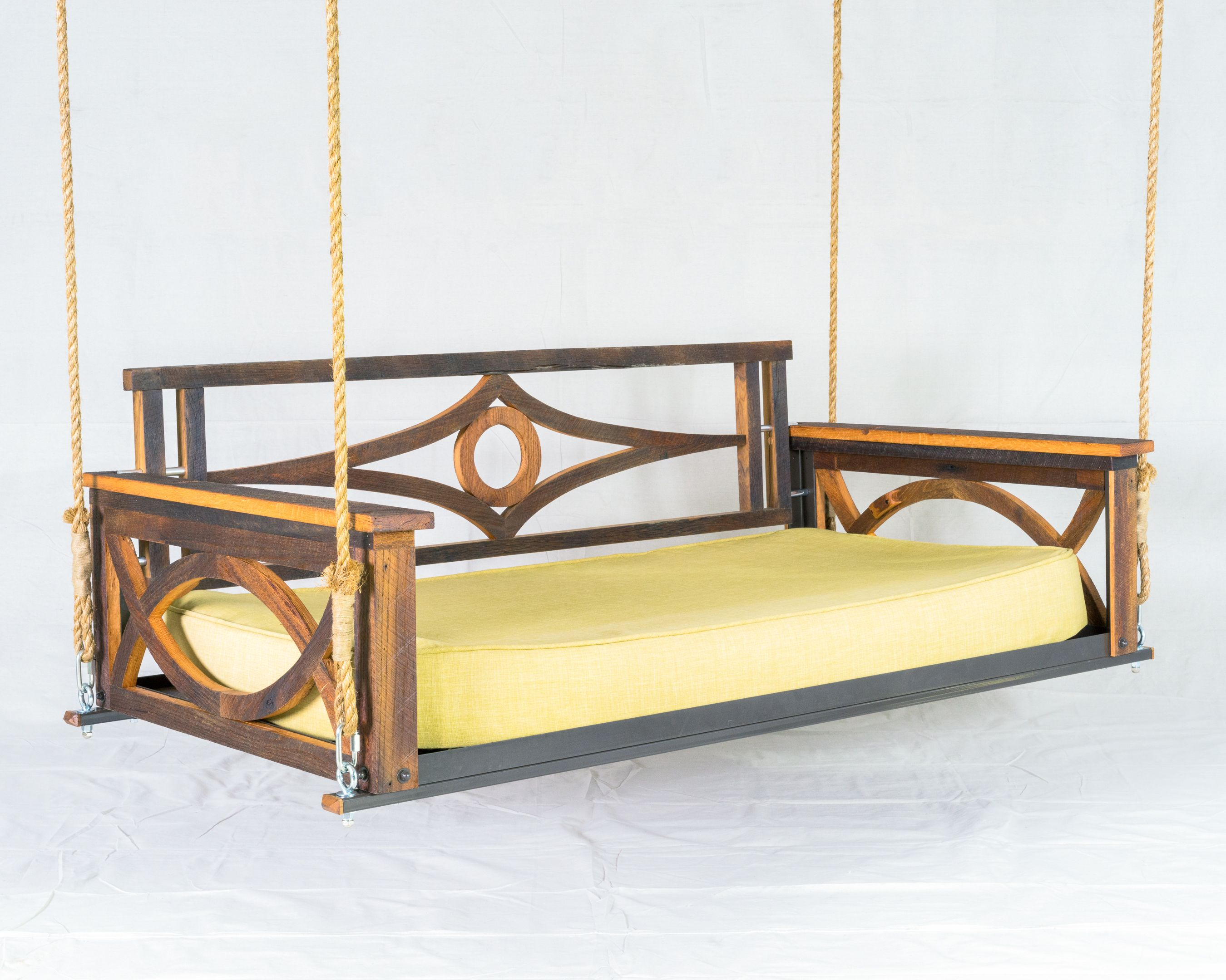 Barn Wood Bed Swing The Porch pany For the Home