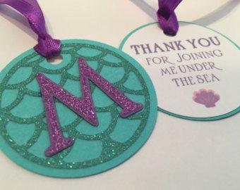 Mermaid party napkin rings printable Mermaid by MagicPartyDesigns