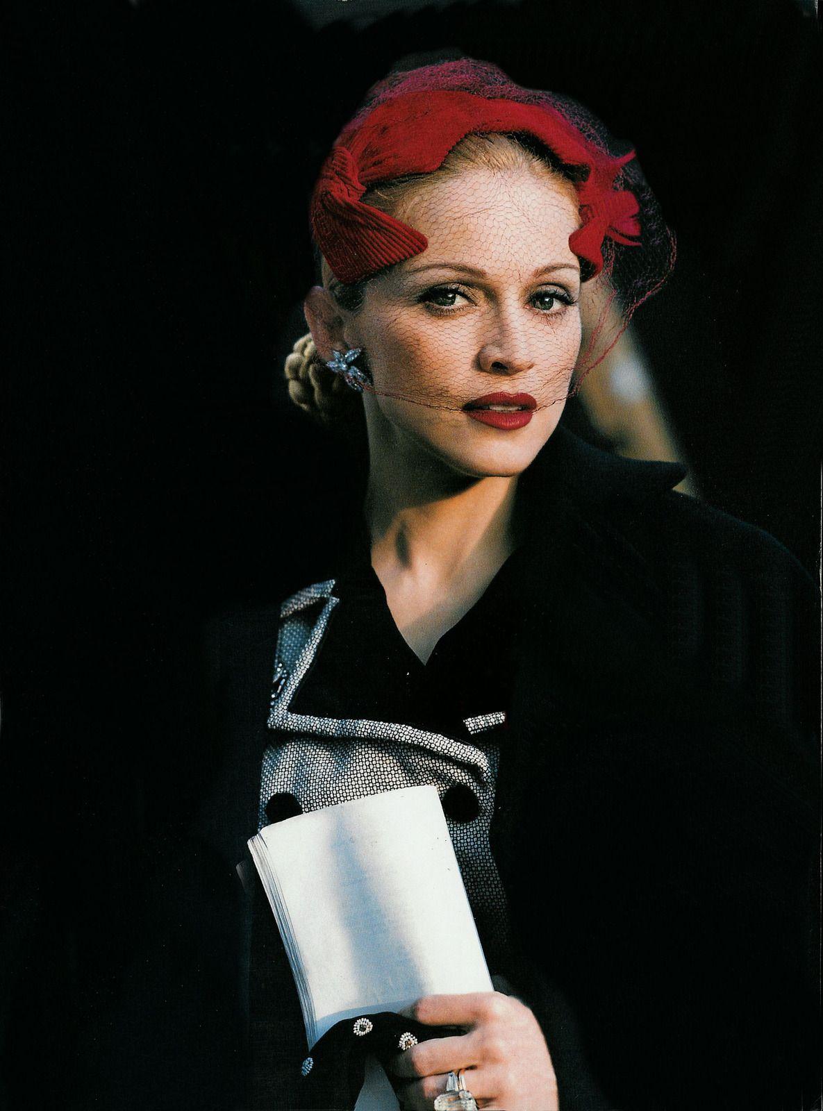 Madonna as uevitau for vanity fair by mario testino madonna
