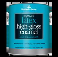 099100 Impervex Latex High Gloss Enamel Benjamin Moore For