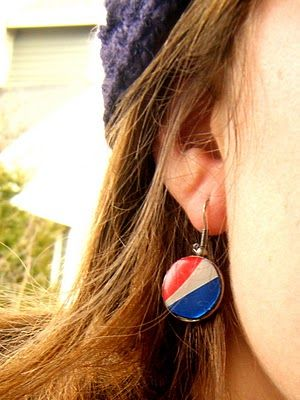 You Seriously Made That!?: Pepsi Can Earrings Tutorial