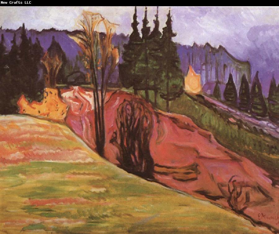 Edvard Munch Forest