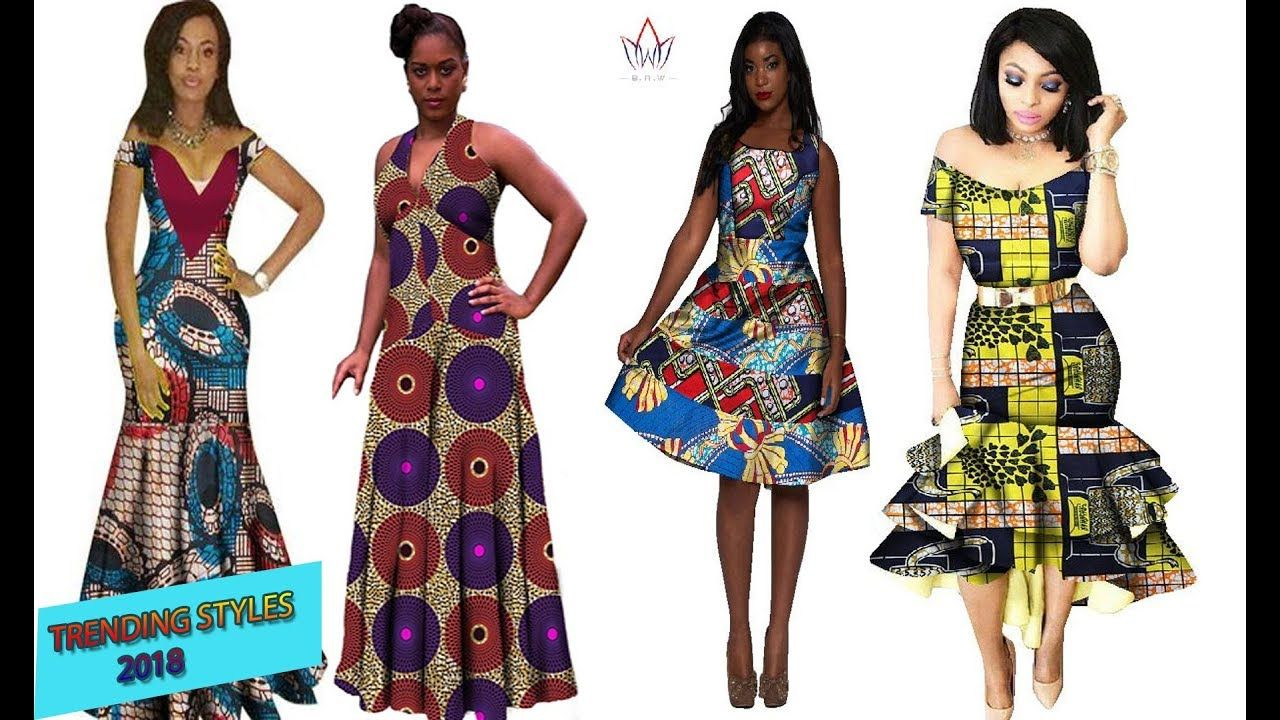 Latest African Dresses 2018 :Lovely and Best Trending #African #Dresses styles - video #africandressstyles