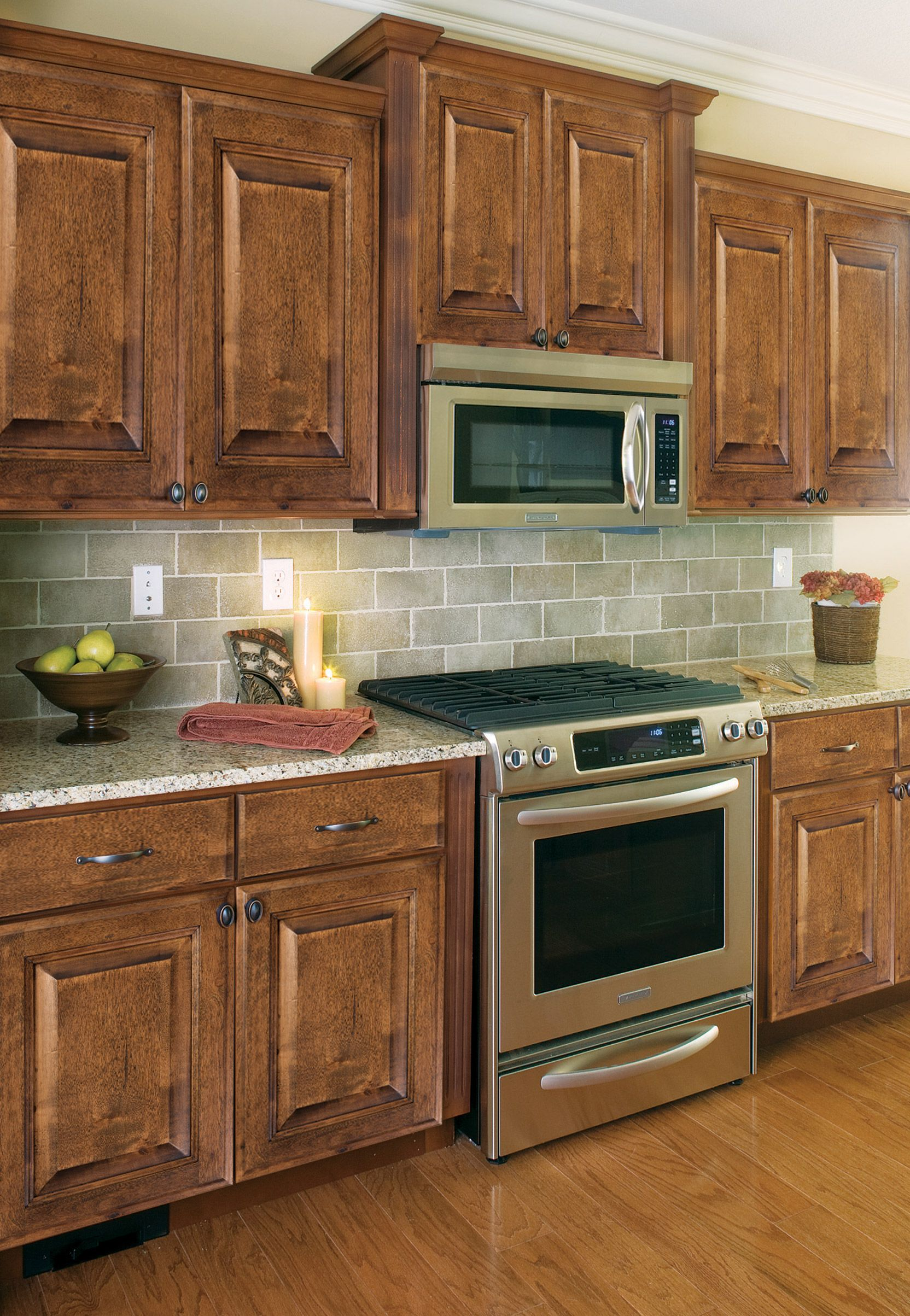 Mocha Kitchen Cabinets Pictures