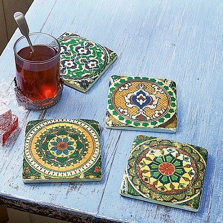 Moroccan Tile Coasters Culture Vulture 15