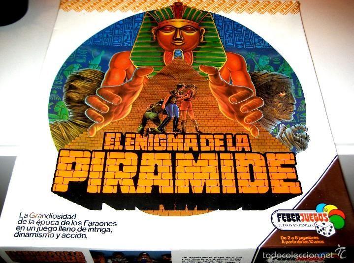 El Enigma De La Piramide Juego De Mesa Anos 80 Muy Dificil De