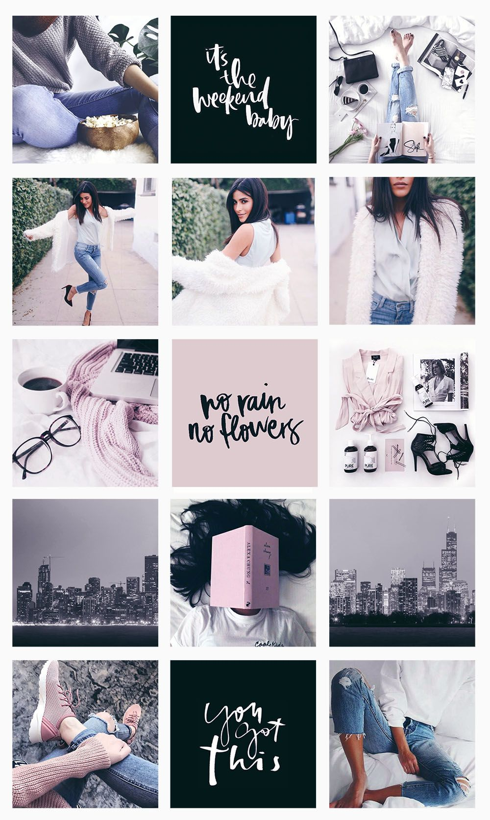 Instagram Feed Aesthetic: The Blogger One | Instagram feed ...