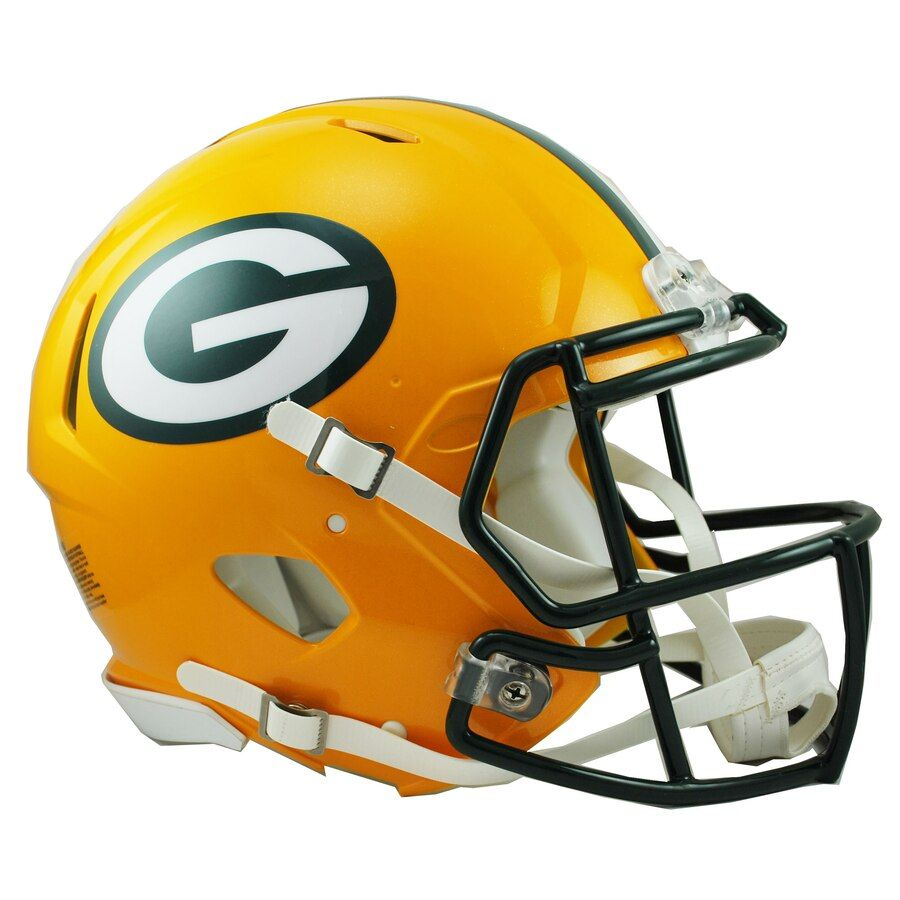 Green Bay Packers Football Helmets In 2020 Green Bay Packers Helmet Football Helmets Packers Football