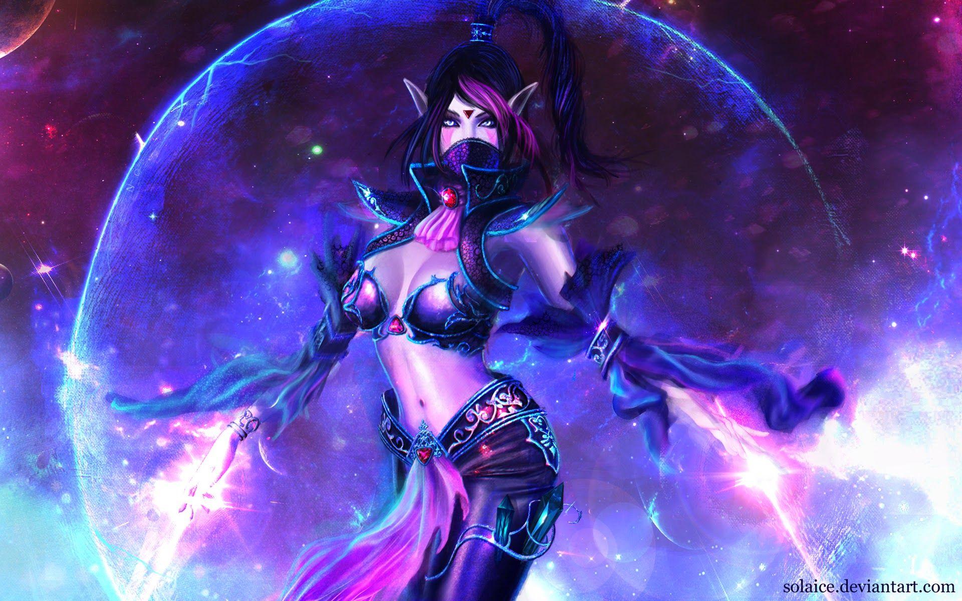 Luna сексуальные фота dota 2 150