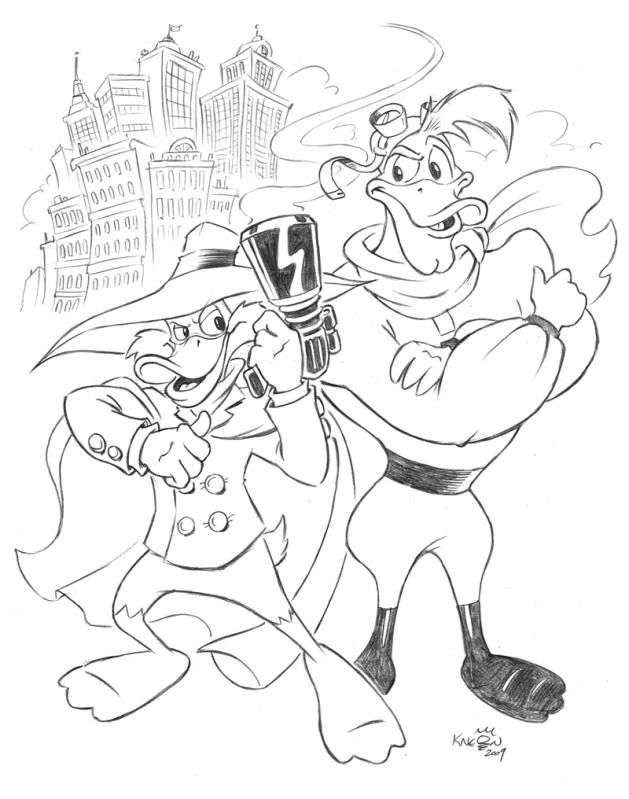Darkwing Duck Yes It S Darkwing Duck Cartoon Coloring Pages Comic Books Art Old Cartoons