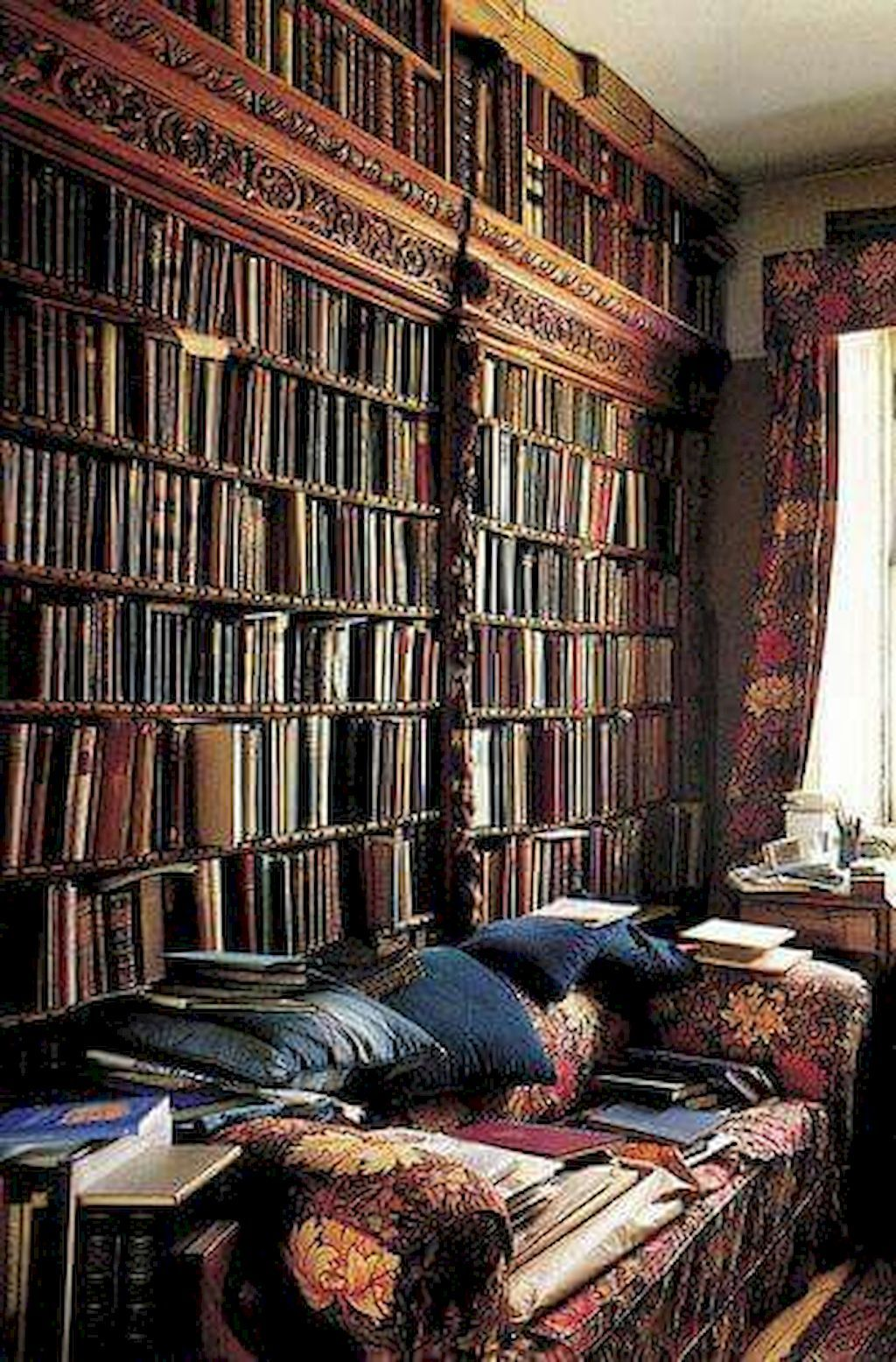 Cool Home Library Ideas: 60 Cool Ideas Vintage Library At In 2020 (With Images