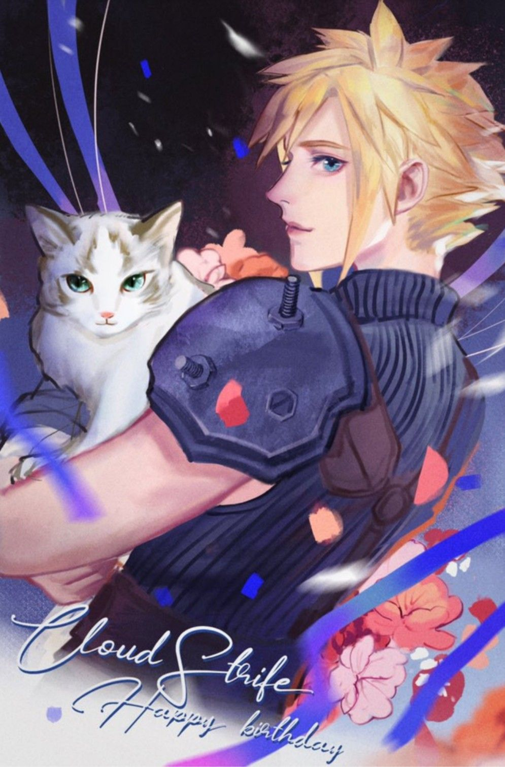 Pin By D Nyka On The Babe With The Blue Eyes In 2020 Final Fantasy Art Final Fantasy Funny Final Fantasy Cloud