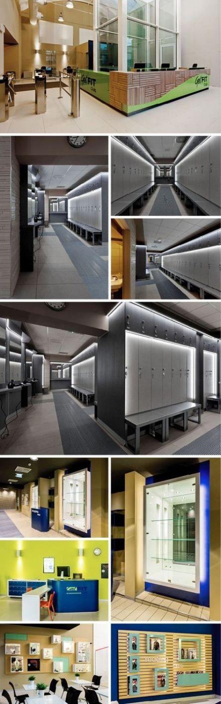 25 ideas fitness interior design gym locker storage #fitness #design
