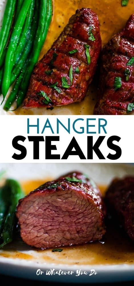 Traeger Grilled Hanger Steak | Recipe | Grilled steak ...