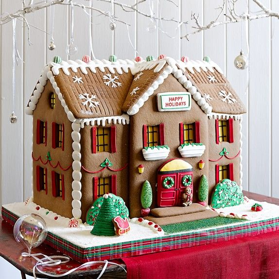 Williams Sonoma Gingerbread House