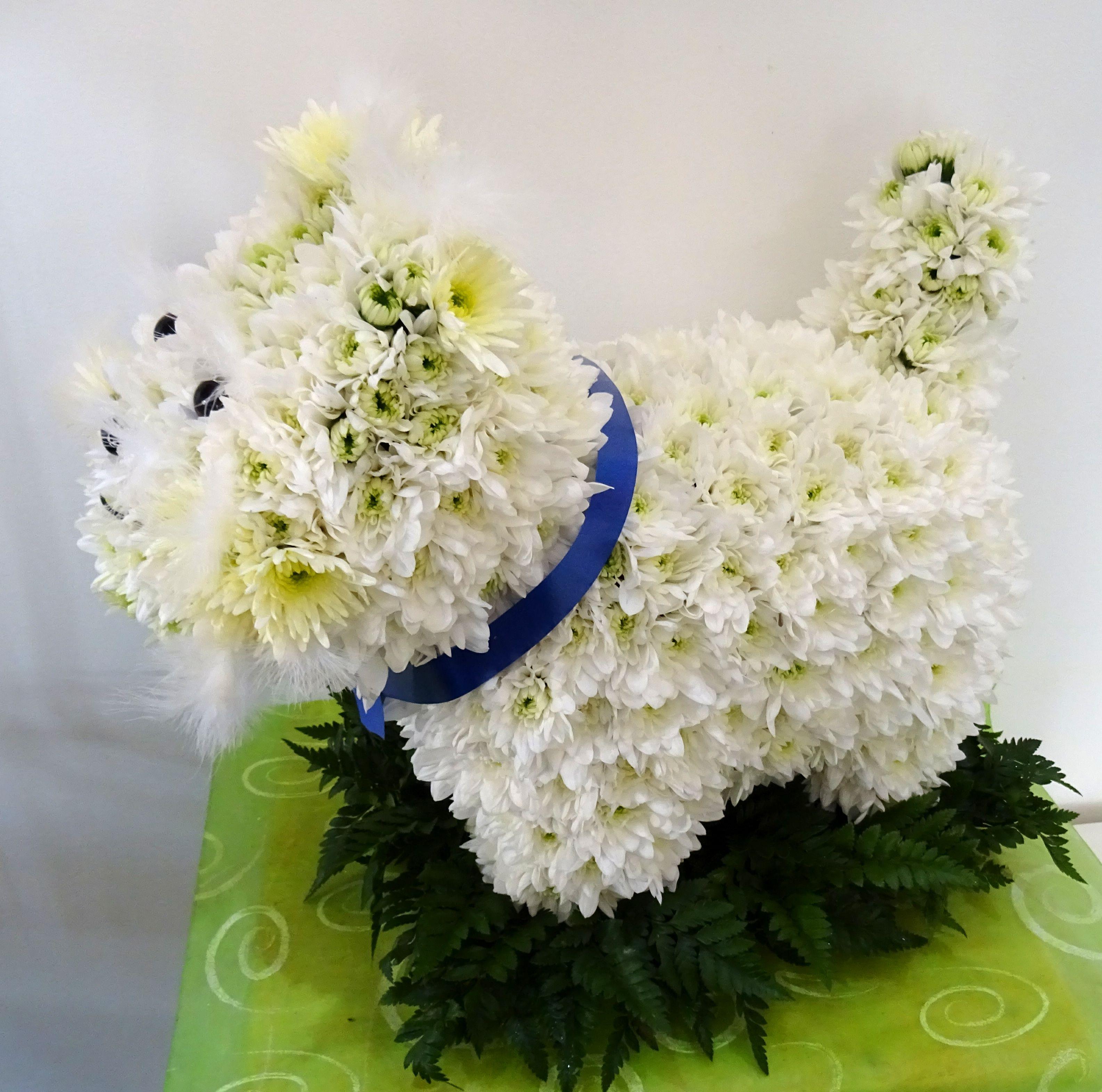 3d westie dog tribute funeral flowers pinterest funeral flowers funeral flowers 3d westie dog tribute izmirmasajfo