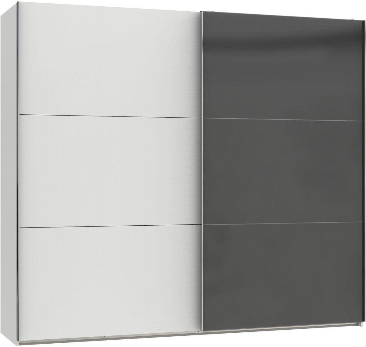 Schwebeturenschrank Level Mit Glastur Schwebeturenschrank