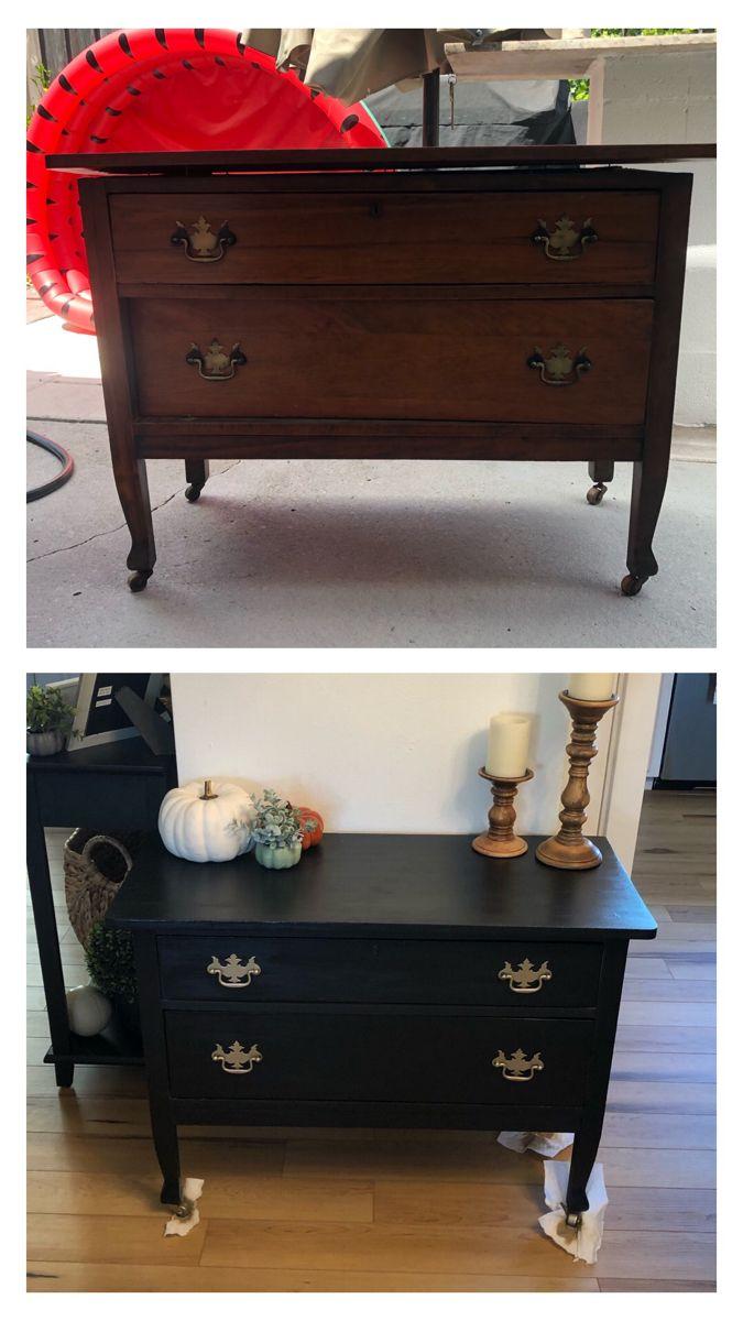 #beforeandafter of my #furnitureflip #diyproject