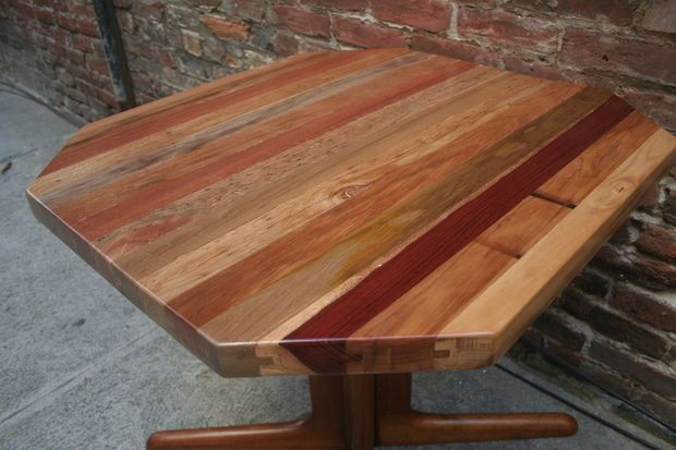 How to Make a Reclaimed Tongue & Groove Table Top | Wood ...