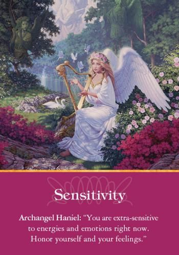 Oracle Card Sensitivity | Doreen Virtue | official Angel Therapy Web site