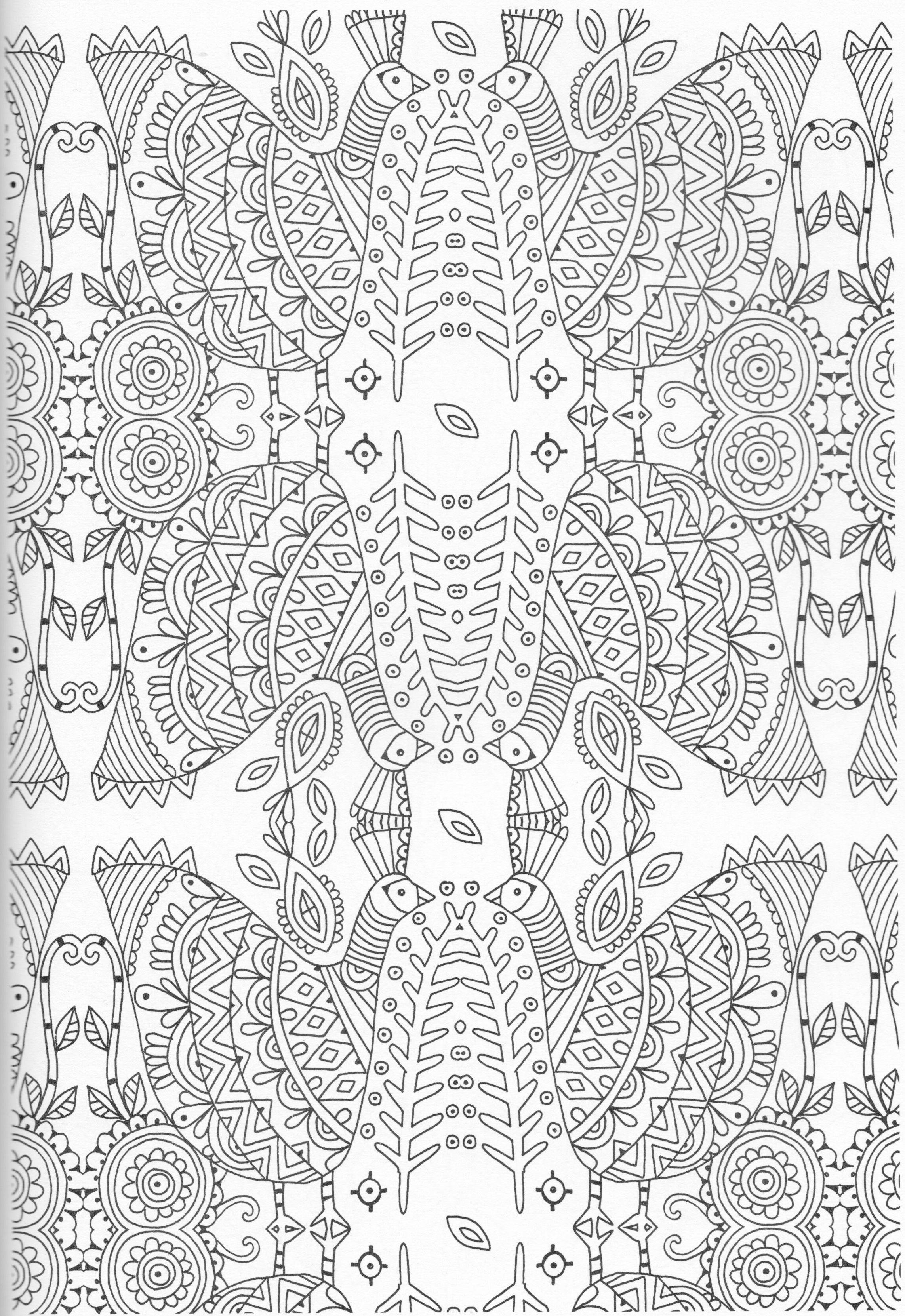 Scandinavian Coloring Book Pg 30 | ÇİZİMLER | Pinterest | Mandalas ...