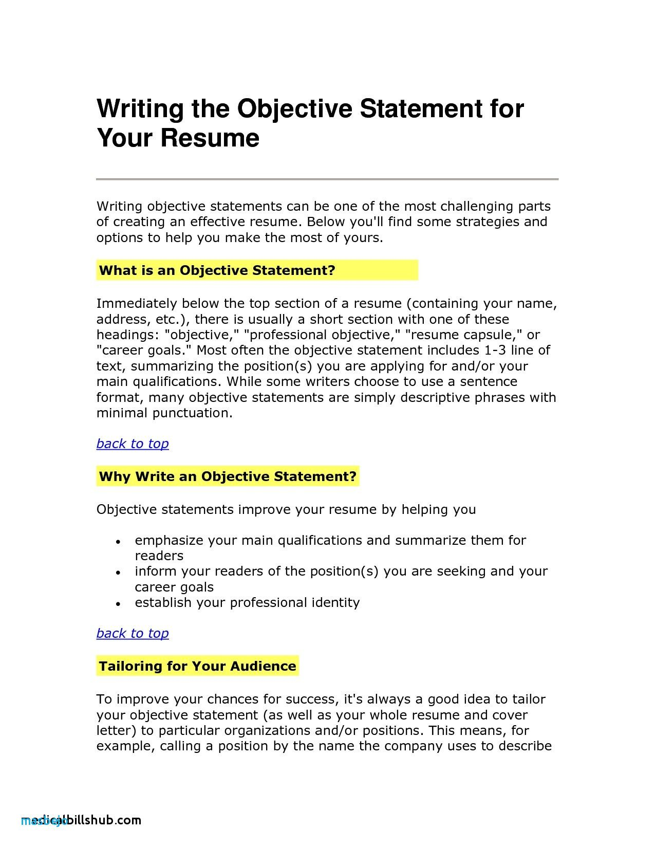 23 Best Of Photos Of Resume Objective Examples In Healthcare Check