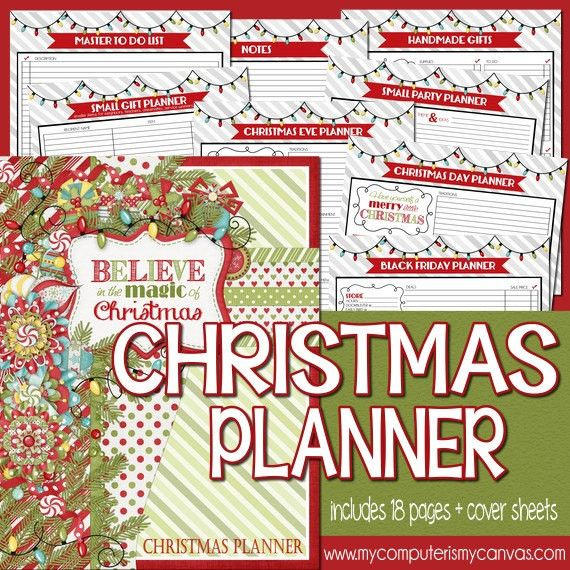 Christmas Planner Kit PRINTABLE