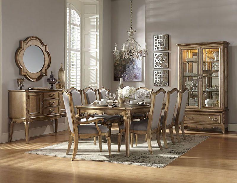Chambord Formal Dining Room Set  Elegant Gold Furniture Sets Entrancing Formal Dining Room Collections 2018