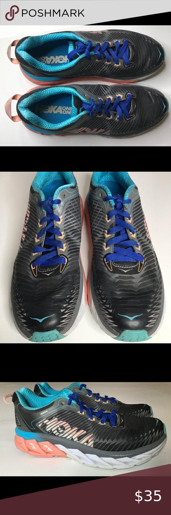 HOKA One One Arahi Shoes, #F27217A