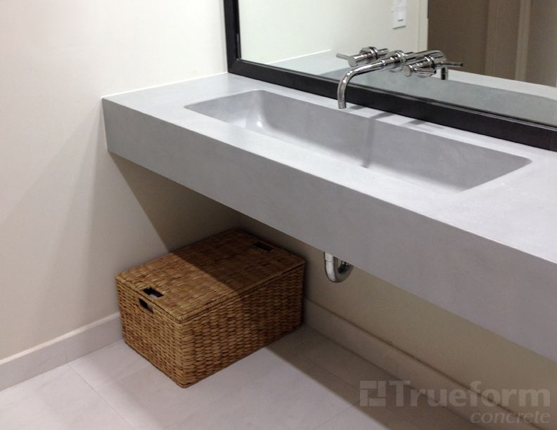 Floating sink floating sink commercial ada floating for Floating pedestal sink