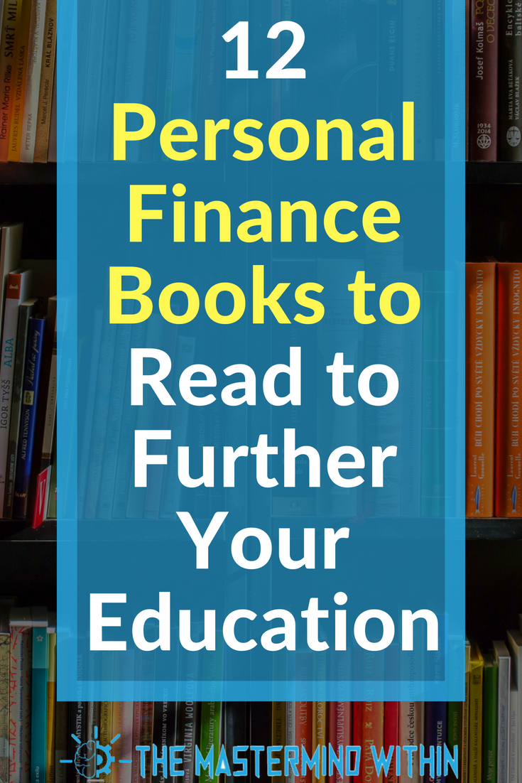 12 Personal Finance Books To Read To Further Your