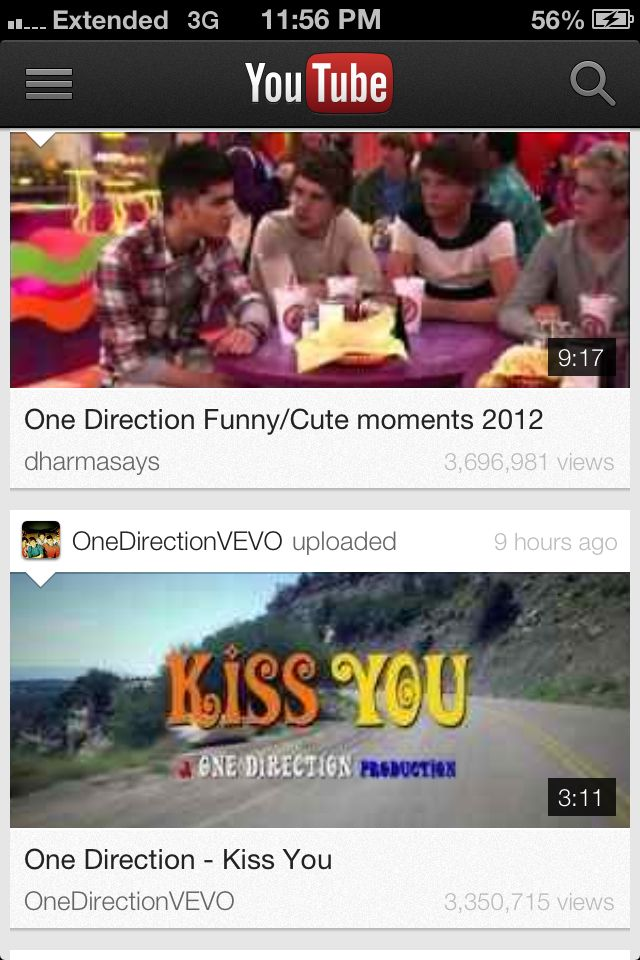 Look How Many Views So Far In This Moment Kiss You One