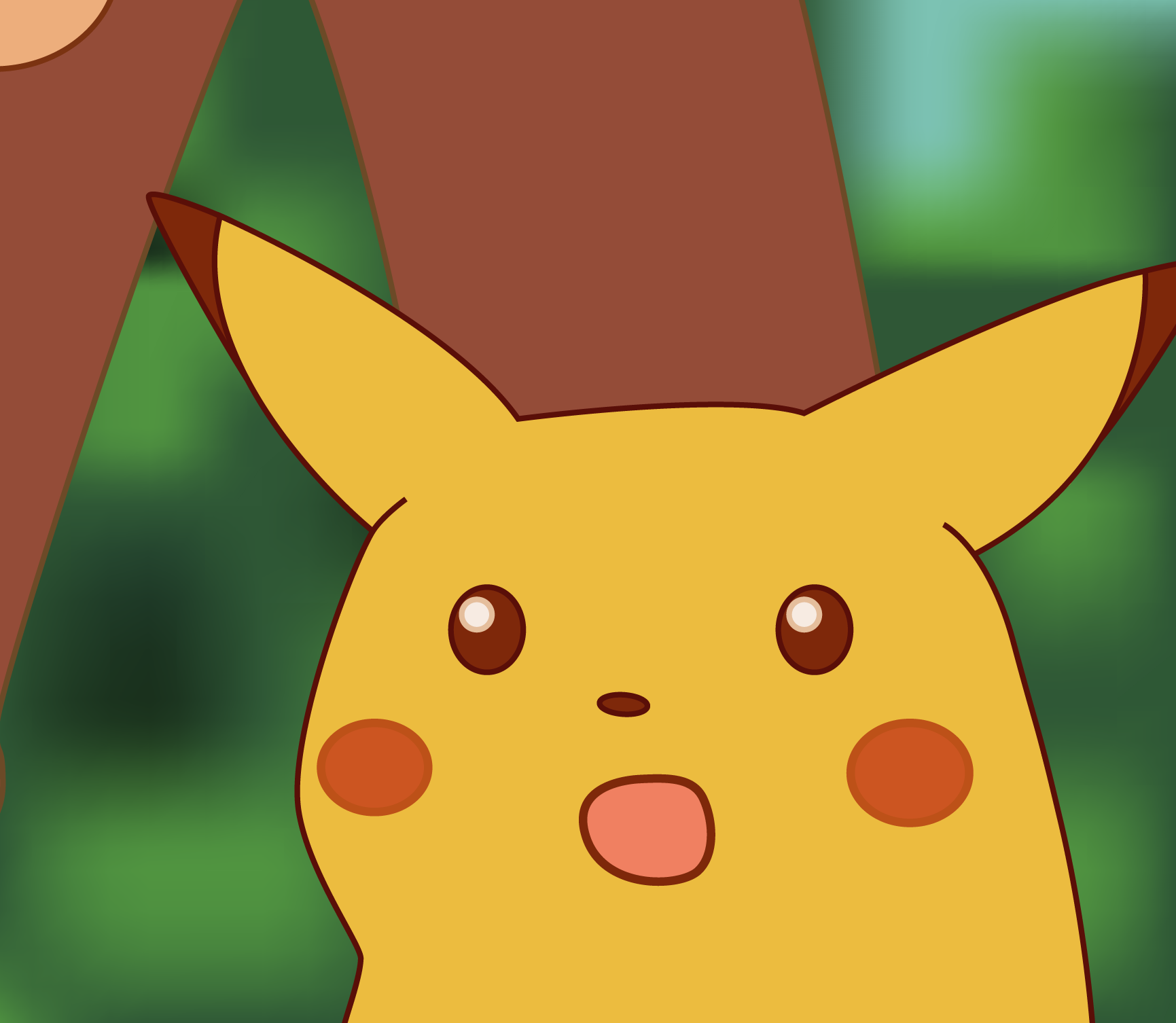 Hd Version Surprised Pikachu Painting Memes Pikachu Memes Aesthetic Memes