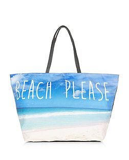 Blue Beach Please Shopper Bag | New Look | Pretty Things for ...