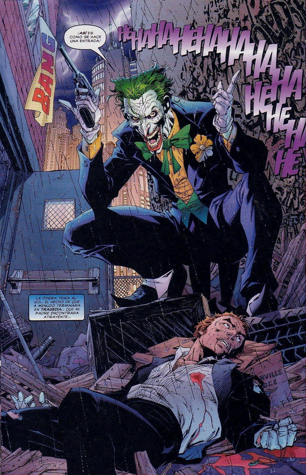 Batman Hush Joker Guason Joker Comic Batman Hush Joker Origin